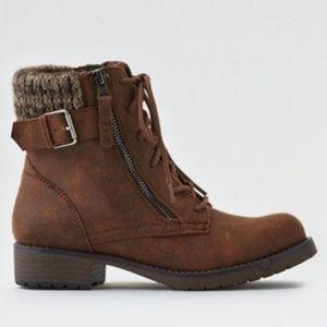 AE Knit Cuff Boots